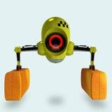 Futuristic robot taxi Stock Photography