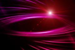Futuristic romantic wave background design Stock Image