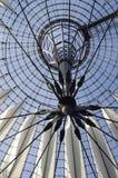 Futuristic roof, Potsdamer Platz, Berlin, Germany. Stock Images