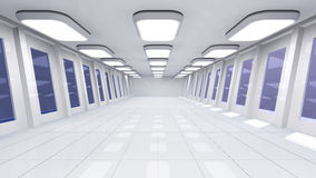 Futuristic room Royalty Free Stock Photography