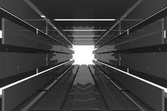 Futuristic room Stock Images