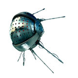 Futuristic satellite with antennas Stock Image