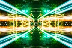 Futuristic Sci-Fi Complex New Era abstract. vector illustration