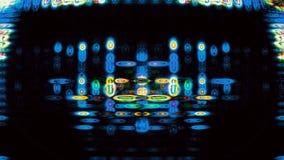 Futuristic Screen Display Pixels 10474 Stock Photography