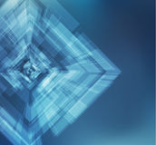 Futuristic shape vector background. EPS10. Stock Images