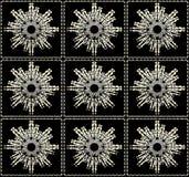 Futuristic Shapes Pattern Royalty Free Stock Photo