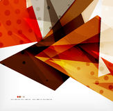 Futuristic shapes vector abstract background Stock Photo