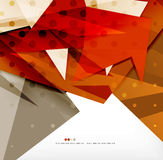 Futuristic shapes vector abstract background Royalty Free Stock Photo
