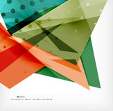 Futuristic shapes vector abstract background royalty free illustration