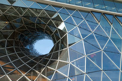 Futuristic shopping center Royalty Free Stock Photography