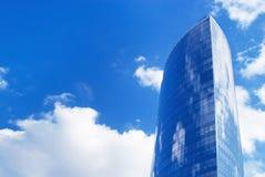 Futuristic skyscraper Stock Photo