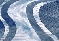 Futuristic skyscraper Stock Image
