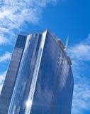 Futuristic skyscraper made of Glass and steel Stock Photo
