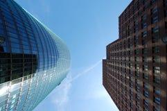 Futuristic Skyscrapers Royalty Free Stock Photo