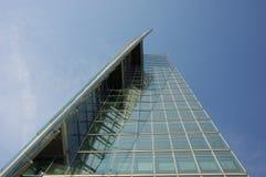 futuristic skyskrapa Arkivbild