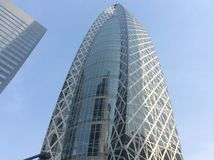 futuristic skyskrapa Arkivbilder
