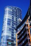 futuristic skyskrapa för lägenheter Royaltyfri Bild