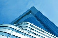 futuristic skyskrapor Fotografering för Bildbyråer