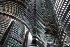 futuristic skyskrapor Royaltyfri Bild