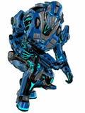 futuristic soldat Royaltyfri Fotografi