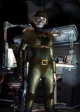 Futuristic soldier Stock Image