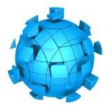 Futuristic sphere Stock Image