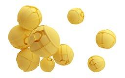 Futuristic spheres Stock Image