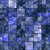 Futuristic square design Stock Images