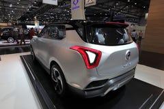 Futuristic SsangYong XLV Concept SUV Royalty Free Stock Photos