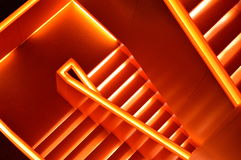 Futuristic stairway Stock Images
