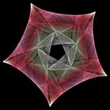 Futuristic star vector illustration