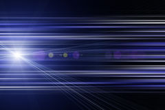 Futuristic stripe design with lights Royalty Free Stock Images