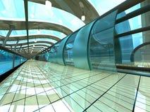 Futuristic Subway Station Stock Image
