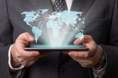 Futuristic tablet Royalty Free Stock Photo