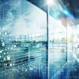Futuristic tech background Stock Image