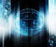 Futuristic technology Royalty Free Stock Photo