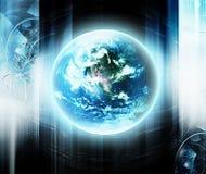 Futuristic technology Stock Photo