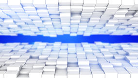 Futuristic technology abstract 3D render background. Futuristic technology abstract background. Computer generated 3D render vector illustration