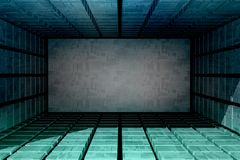 Futuristic technology background. Stock Images