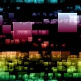 Futuristic technology background design Stock Images