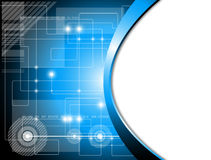 Futuristic technology background Royalty Free Stock Image