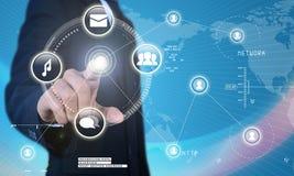 Futuristic technology Stock Image