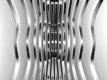 Futuristic technology metal abstract background. 3d illustration Stock Photography