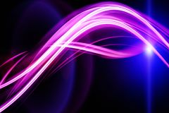 Futuristic technology wave background design Royalty Free Stock Photos