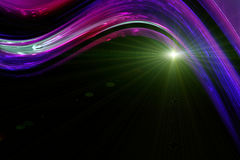 Futuristic technology wave background design Royalty Free Stock Image