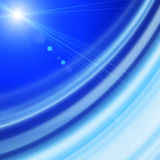 Futuristic technology wave background design. With lights Royalty Free Stock Image
