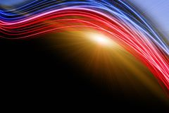 Futuristic technology wave background design Royalty Free Stock Images