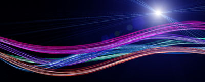 Futuristic technology wave background Royalty Free Stock Photography