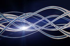 Futuristic technology wave design with lights. Futuristic technology wave background design with lights vector illustration