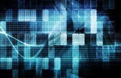 futuristic teknologi stock illustrationer